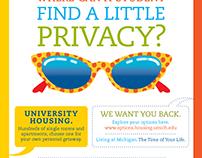 University Housing Campaign
