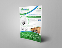 iVisionTech Flyer & Web Banner for LED lighting product