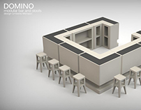 DOMINO - OUTDOOR BAR - Rotational Molding