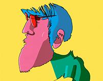 7 Blind Contour Illustrations