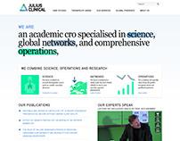Julius Clinical Corporate Website