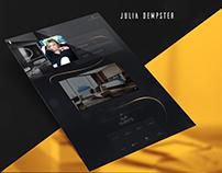 Julia Dempster   Web Design
