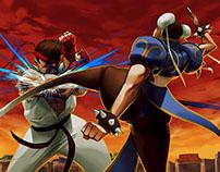 Ryu vs Chun-Li