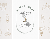 Hands & Logo Templates