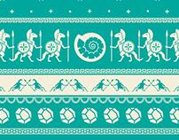KeyForge Ugly Sweater Pattern Designs