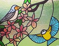 Garden Birds. York