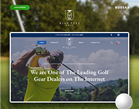 Shopify Online Store for an American Golf Company