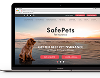 SafePets Website Design