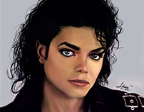 Michael Jackson Tribute Portrait