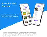 UX/UI Free-cycling App Design