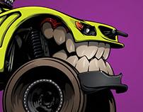 #BeastedUp trophy truck for Empire Destructive