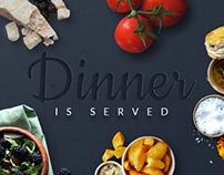 Dinner e-mail banner