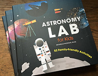 Book Design - Astronomy Lab for Kids