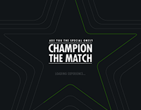 Heineken - Champion The Match