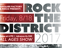 Rock the District - Daiquiri Factory