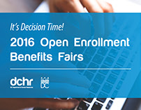 DC Government Open Enrollment Collateral