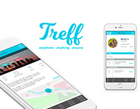 Treff- An App to meet people who share your interests