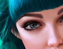 Green Hair :D