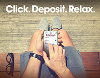 Mobile Check Deposit Ad
