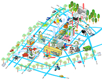 Taichung walking map 2013