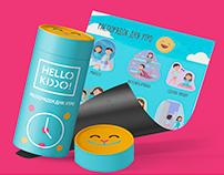 Hello Kiddo brand identity