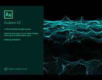 Adobe Audition CC 2019 Splash Screen