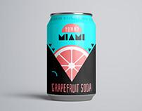 Soda beverage can design