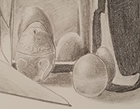 Drawing 101 Midterm Still Life