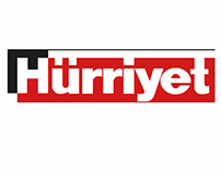 Hürriyet eGazete UI Design iphone/android