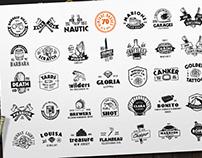 Vintage Badges / Logo Pack