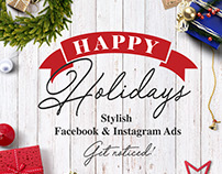 Holiday Social Ads