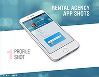 Rental agency app shots