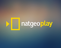 NatGeo Play - Smart TV App Design Prototype