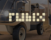 USMC Rubix Marines Logistics Vehicle Concept