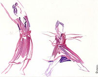 Drawing Dance Las Carmelas