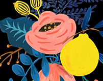 Coleção de Pôsteres Florais II