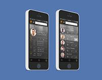 Contact App UI