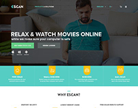 escan - Antivirus Software Website
