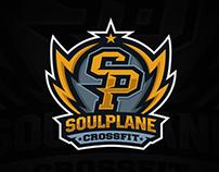 Soul Plane Crossfit Gym Logo Concept