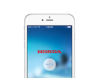 2014 Honda Taiwan Mobile Site Design
