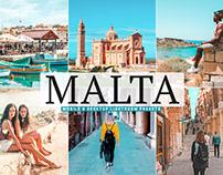 Free Malta Mobile & Desktop Lightroom Presets