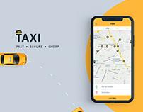 Taxi   Mobile Application Design