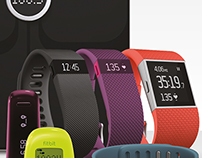 Fitbit 2015 Pull-up banners