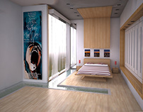 3D MODELLING - water room