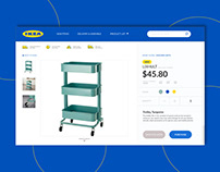 IKEA Product Page UI Case Study