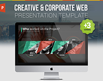 Web Design & Development Powerpoint Presentation