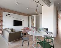 Interior for Kate & Corgis. Photo. 2018