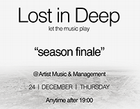 Lost in Deep Poster Design