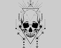Scared Geometry Skull