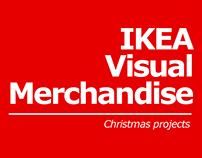 IKEA - Christmas visual merchandise projects